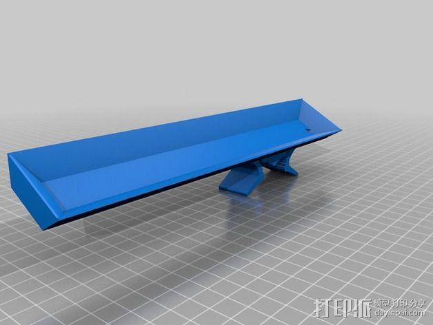 3Drag K8200打印机的LED灯带固定器 3D模型  图2