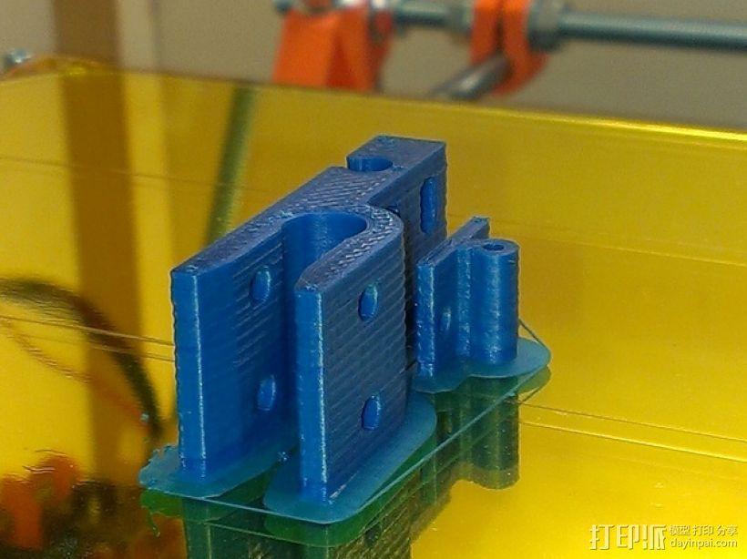 prusa mendel i2限位开关 3D模型  图5