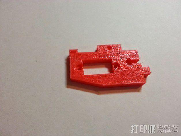 Makerfarm Prusa i3打印机自动调平器马达支架 3D模型  图5