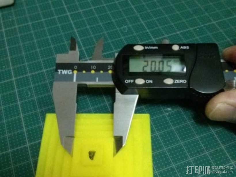Kossel打印机校准测试 3D模型  图4