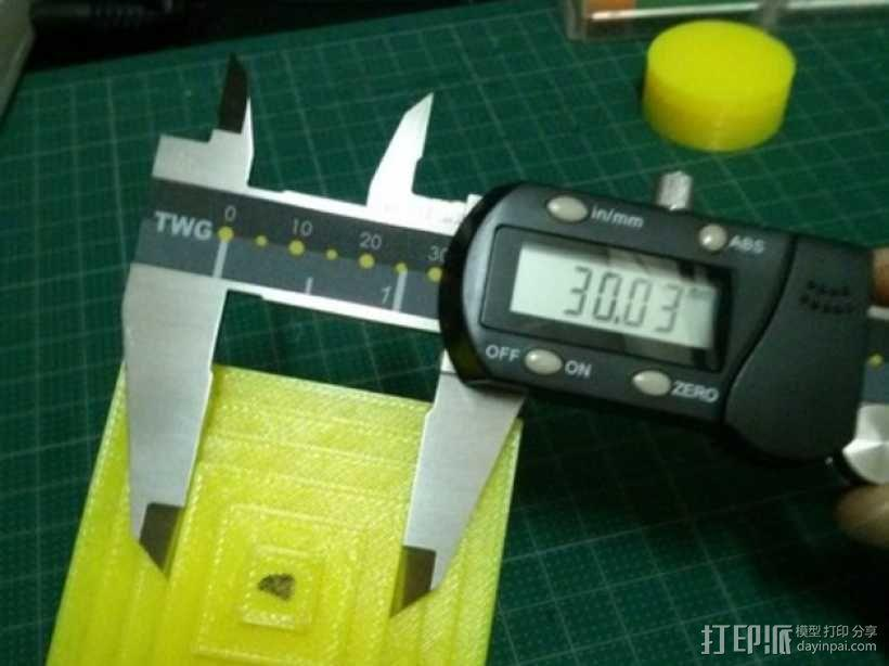 Kossel打印机校准测试 3D模型  图6