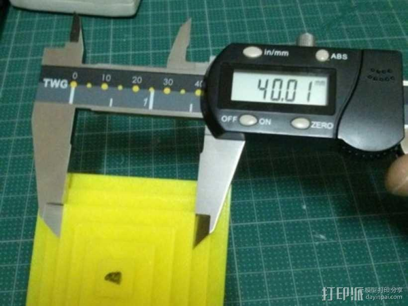 Kossel打印机校准测试 3D模型  图8