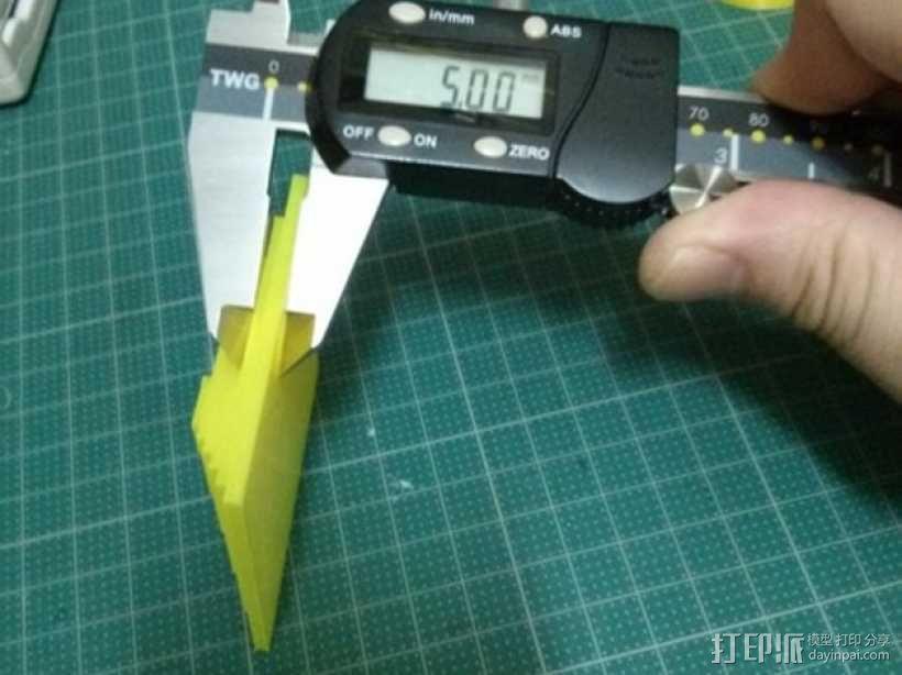 Kossel打印机校准测试 3D模型  图14