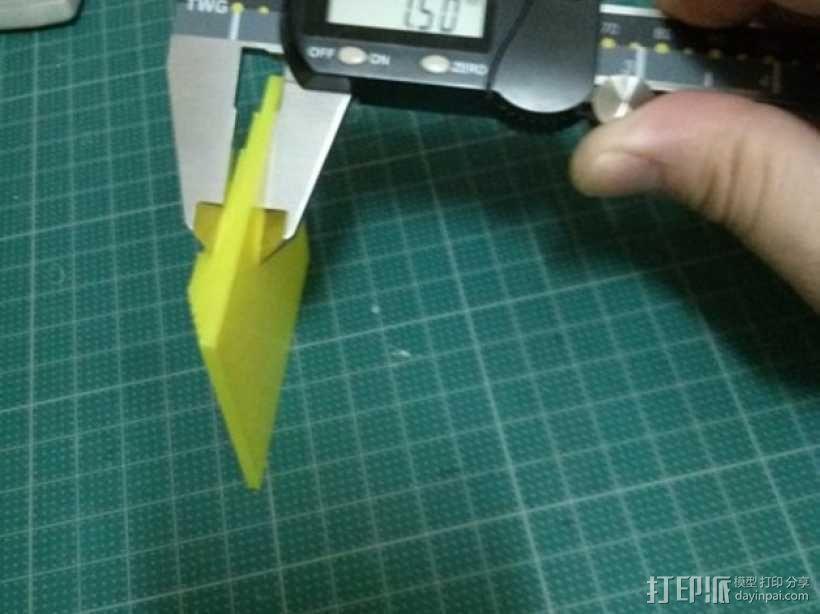 Kossel打印机校准测试 3D模型  图17