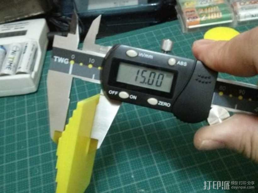 Kossel打印机校准测试 3D模型  图18