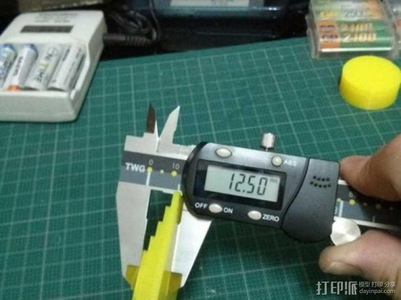 Kossel打印机校准测试 3D模型  图19