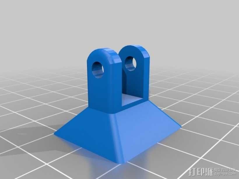滑轮线材导线器 3D模型  图2