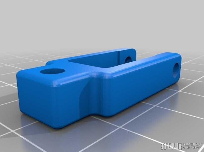 滑轮线材导线器 3D模型  图4