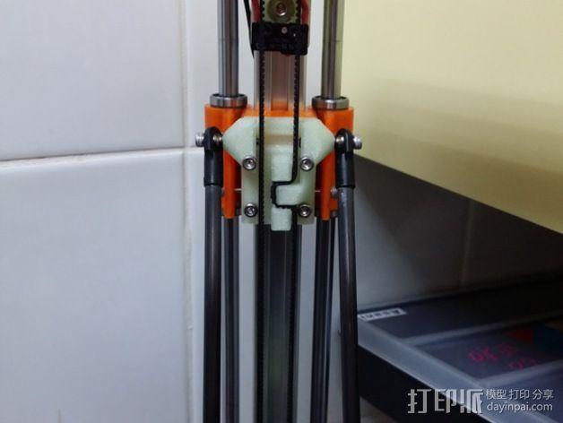线性轴承支架 3D模型  图6