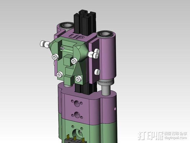 线性轴承支架 3D模型  图5
