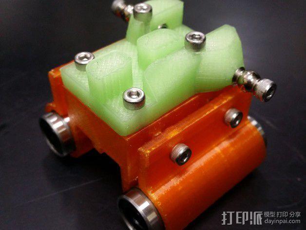 线性轴承支架 3D模型  图7