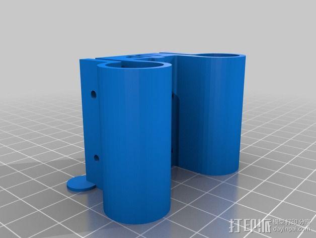 线性轴承支架 3D模型  图9