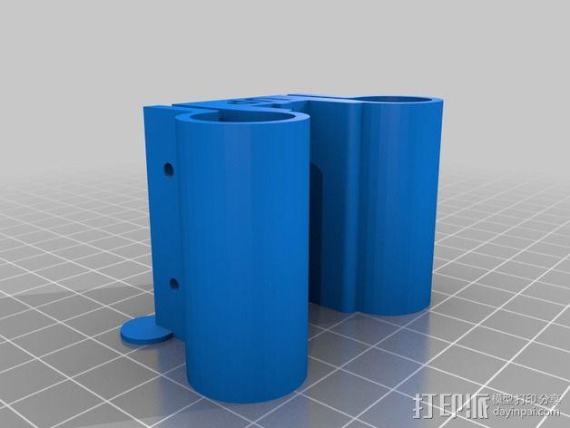 线性轴承支架 3D模型  图11