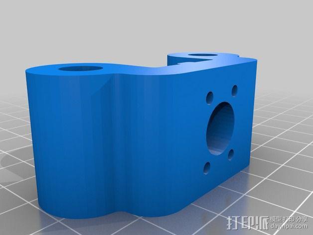 线性轴承支架 3D模型  图10