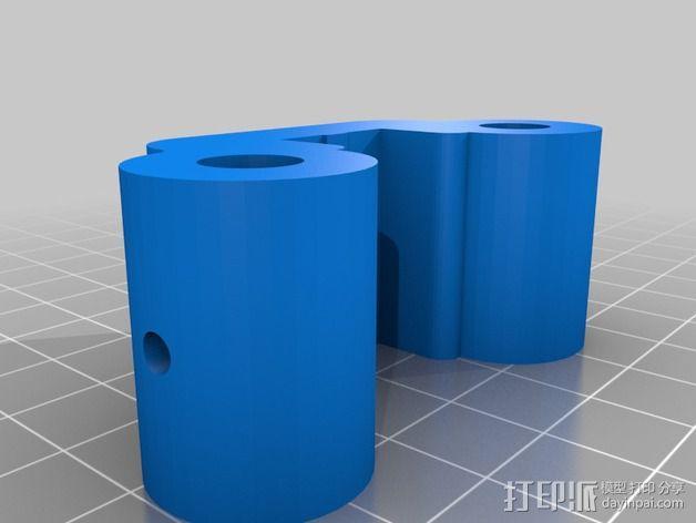 线性轴承支架 3D模型  图12