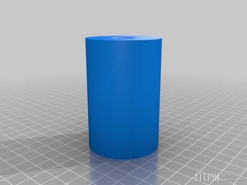 通用式的线轴架垫圈 3D模型  图1