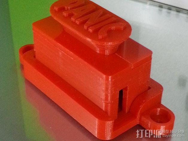 控制器电路板外壳 3D模型  图1