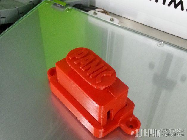 控制器电路板外壳 3D模型  图2