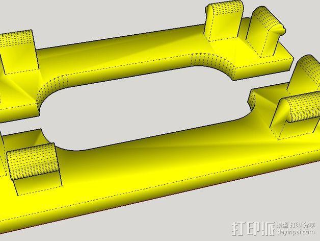 控制器电路板外壳 3D模型  图7