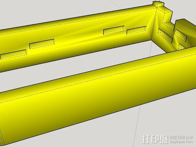 控制器电路板外壳 3D模型  图6