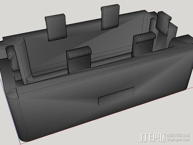 控制器电路板外壳 3D模型  图5