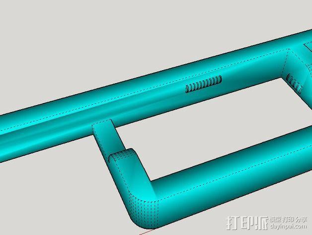 控制器电路板外壳 3D模型  图8