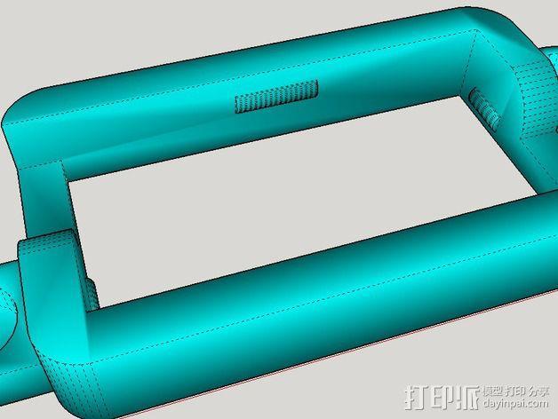 控制器电路板外壳 3D模型  图9
