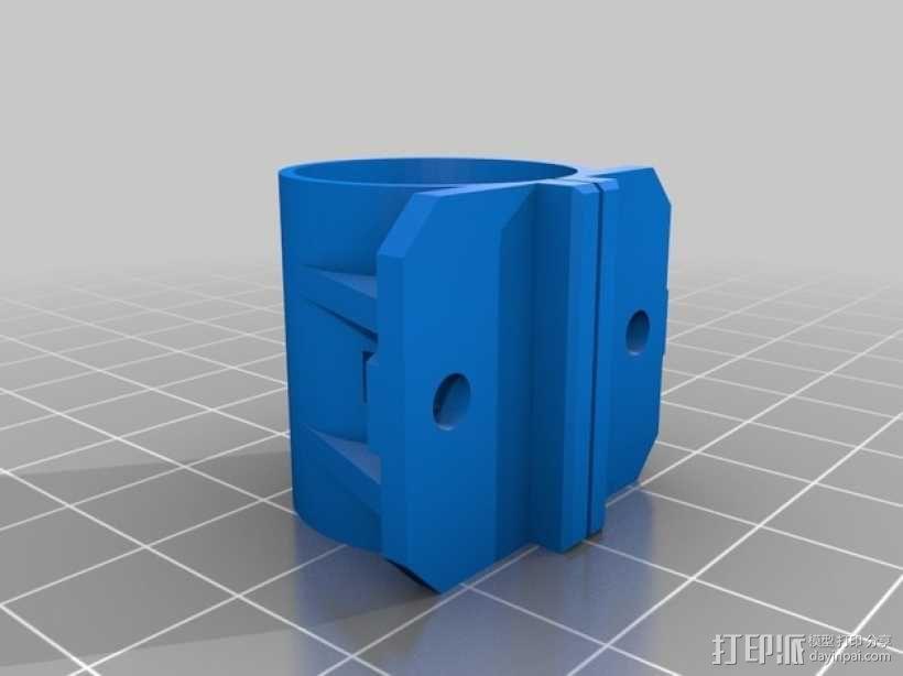 Y轴减震器 3D模型  图2