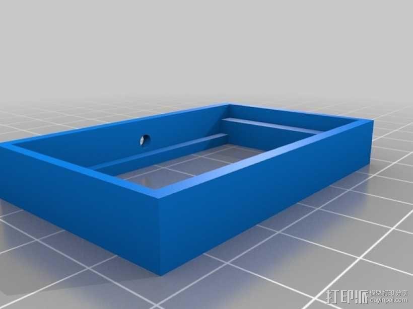 12V LED灯安装框架 3D模型  图3