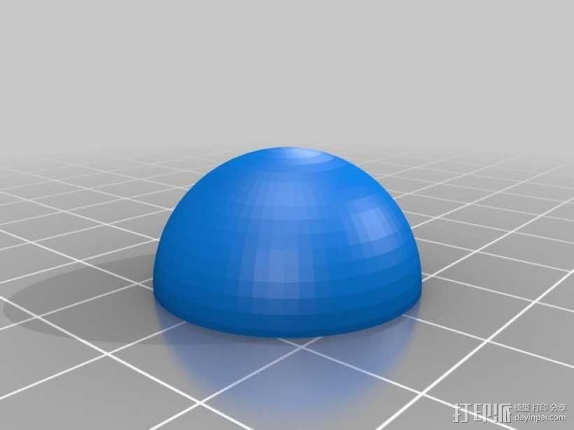 步进马达 3D模型  图2