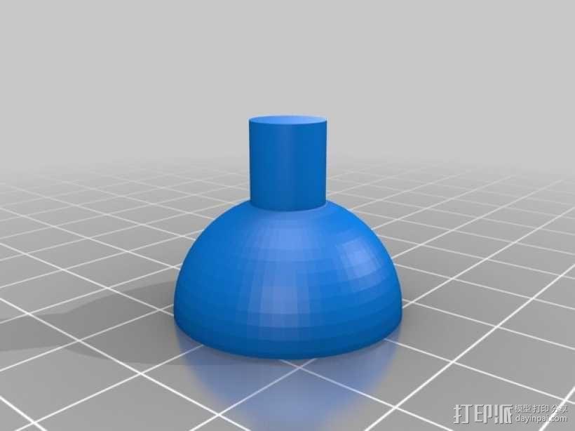 步进马达 3D模型  图3