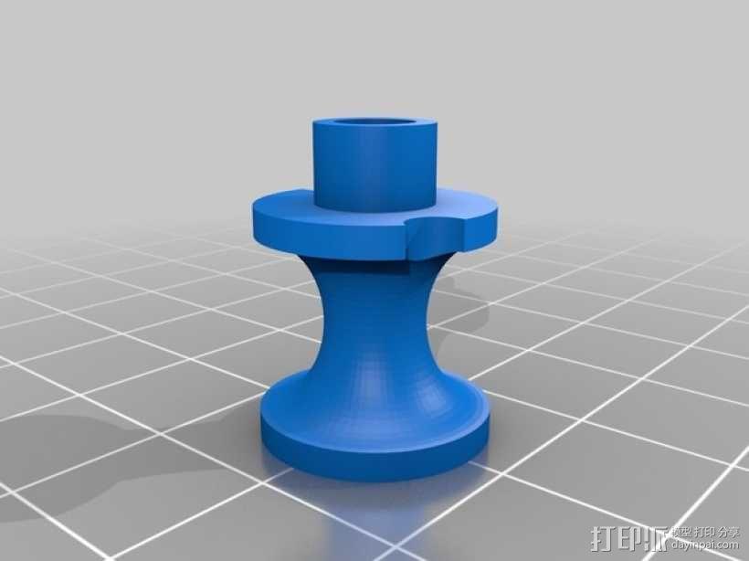 步进马达 3D模型  图5