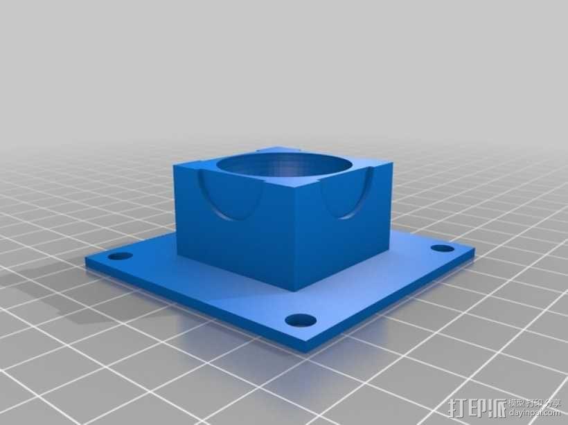 步进马达 3D模型  图4