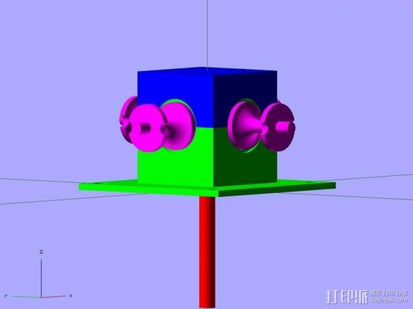 步进马达 3D模型  图9