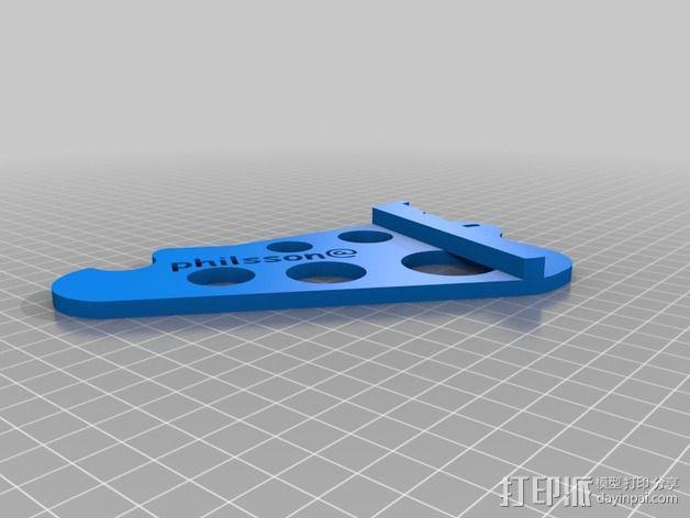 线材架 3D模型  图4
