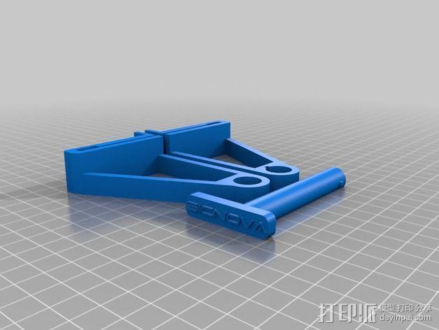 线材支撑架 3D模型  图2