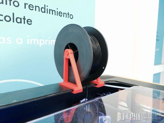 线材支撑架 3D模型  图1