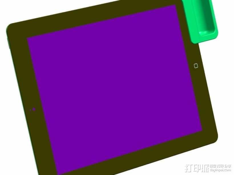 iPad2 扬声器 3D模型  图1