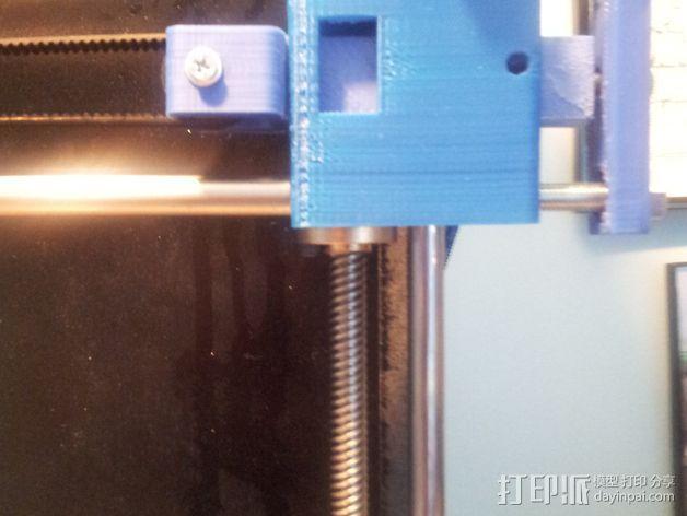 Prusa i3 打印机的 X ends 3D模型  图5