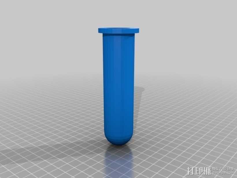 线轴花瓶 3D模型  图3