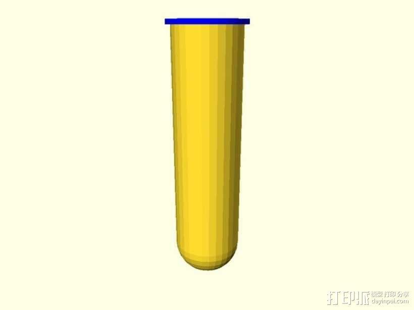 线轴花瓶 3D模型  图2