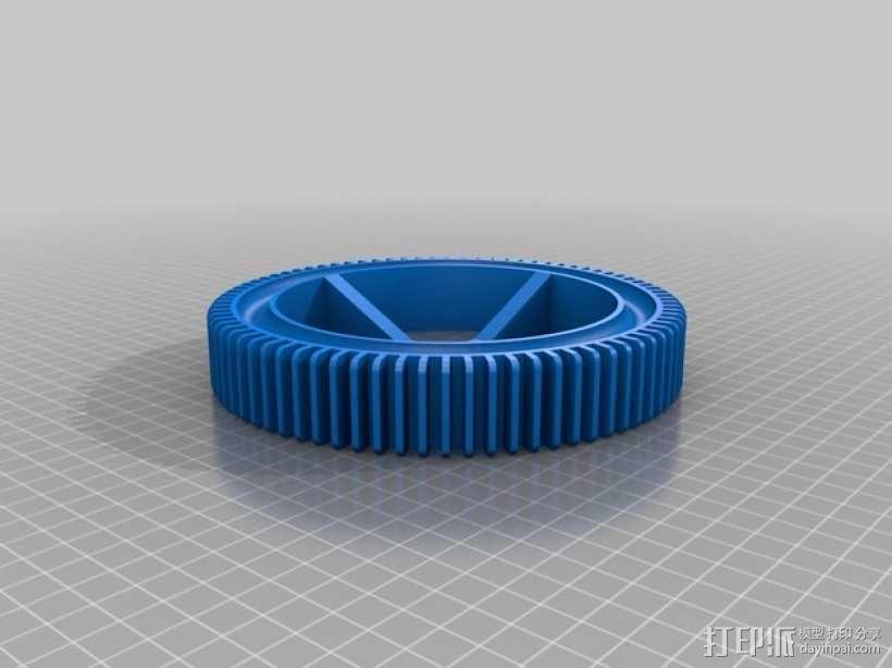 神鬼奇兵 车轮 3D模型  图1
