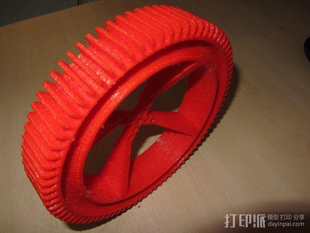 神鬼奇兵 车轮 3D模型  图2
