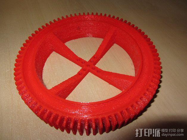 神鬼奇兵 车轮 3D模型  图4