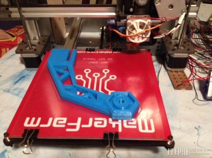 线材支撑器 3D模型  图3