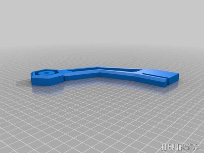 线材支撑器 3D模型  图2