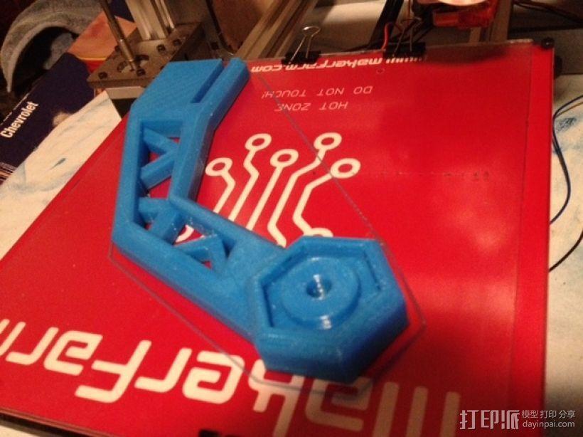 线材支撑器 3D模型  图4