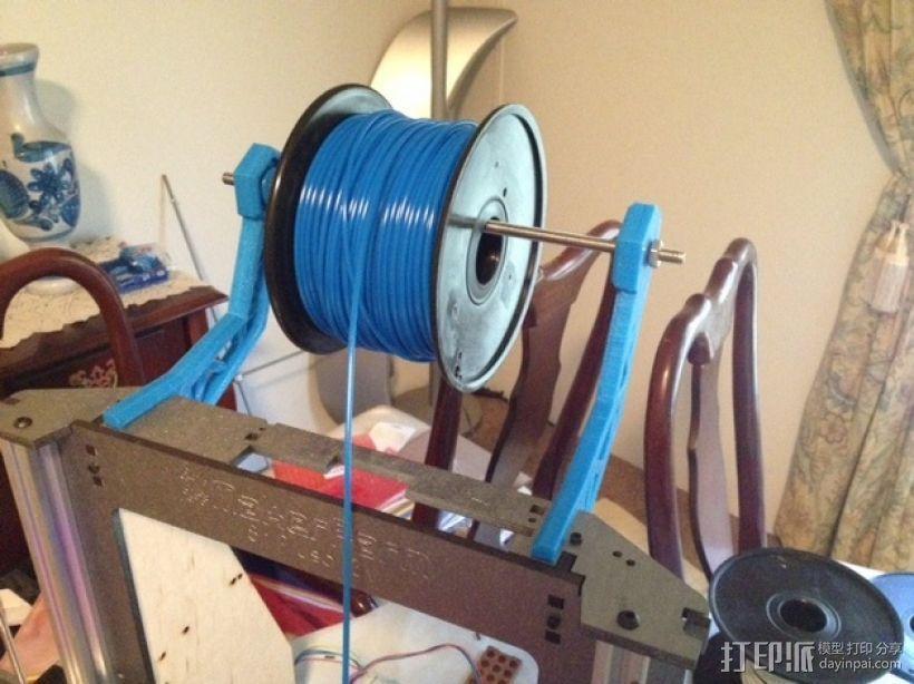 线材支撑器 3D模型  图5