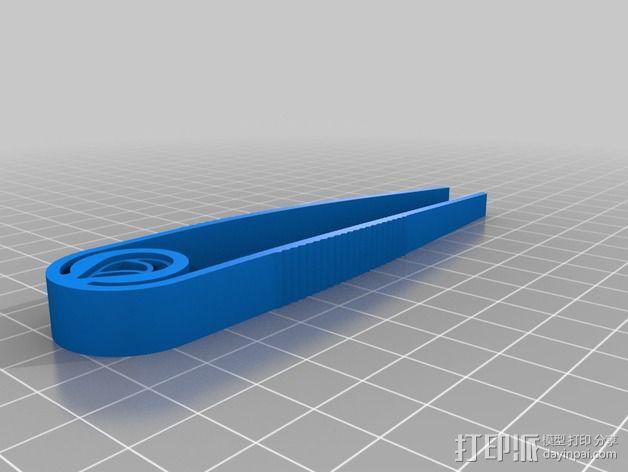 镊子 钳子 3D模型  图2