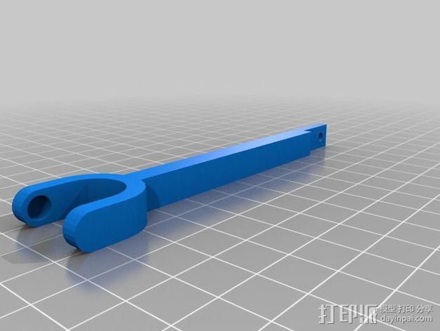 Delta 式3D打印机的螺杆接头 3D模型  图2